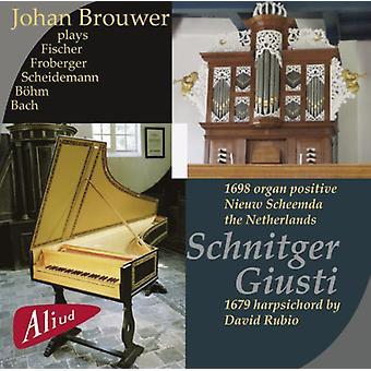 Johan Brouwer - Johan Brouwer Plays the 1679 Harpsichord by David Rubio [CD] USA import