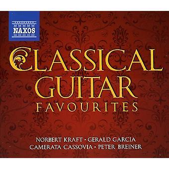 Sor/Aguado/Tarrega/Paganini/Mendelssohn/Schubert/B - klassisk Guitar favoritter [CD] USA import