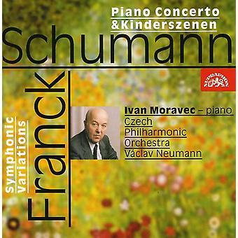 Moravec/Neumann/Checa Po - importación de USA de Moravec toca Schumann y Franck [CD]