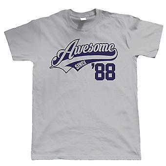 Awesome siden 1988 Herre sjov T Shirt