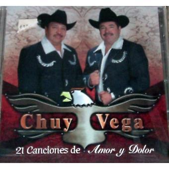 Chuy Vega - 12 Canciones De Amor Y Dolor [CD] USA importerer