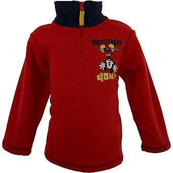 NH1100 Disney Mickey Mouse Boys Fleece Half Zip Sweatshirt