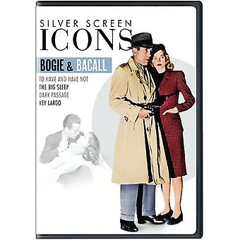 Silver Screen Icons: Legends - Bogie & Bacall [DVD] USA import