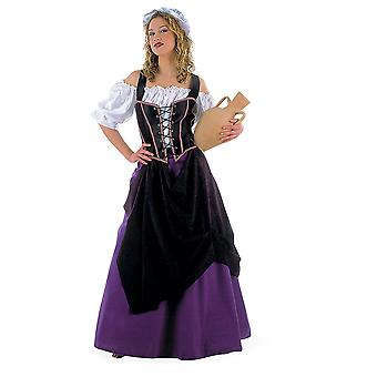 Medieval landlady maid ladies costume