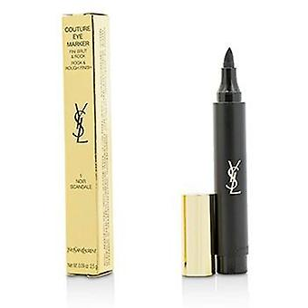 Yves Saint Laurent Couture Eye Marker - # 1 Noir Scandle - 2.5g/0.09oz