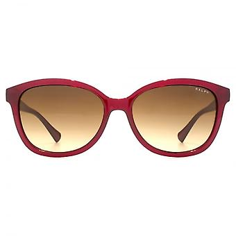 Ralph By Ralph Lauren Small Square Sunglasses In Red