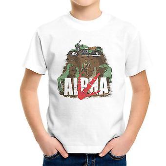 Akira Park Alpha Jurassic World Owen Kid's T-Shirt