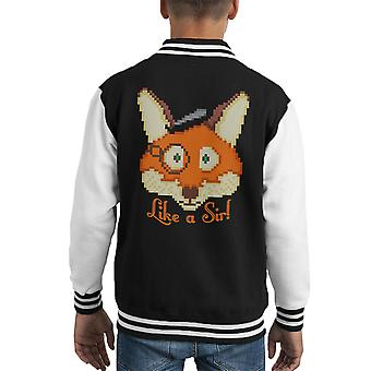 Come Varsity Jacket un capretto di Sir Fox