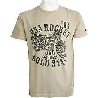 BSA Gold Star T-Shirt-sten Beige