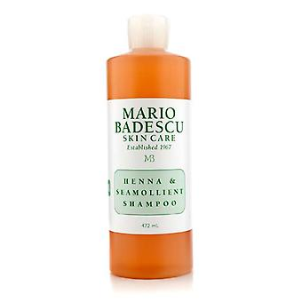 Mario Badescu Henna & Seamollient Shampoo (For All Hair Types) 472ml/16oz