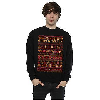 Guns N Roses Men's Pistols Christmas Sweatshirt