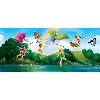 Tinker Bell Disney Fairies væg vægmaleri vandret