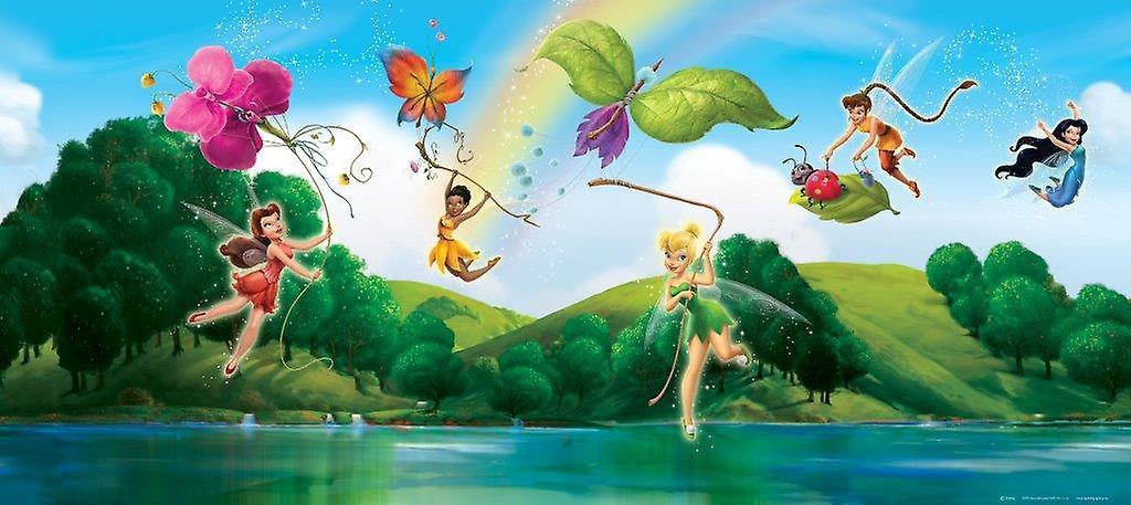 Trilli Disney Fairies Decorazione Murale Orizzontale
