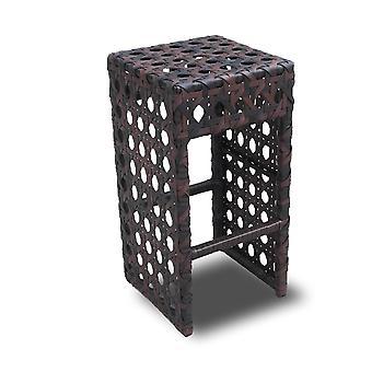 Avon tejida mimbre al aire libre silla/taburete