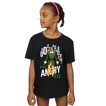 Elf Girls Angry Elf T-Shirt