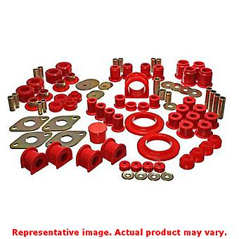 Energy Suspension Hyper-Flex System 8.18104R Red Fits:TOYOTA 1995 - 2000 TACOMA