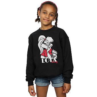 Looney Tunes Girls Classic Lola Bunny Sweatshirt