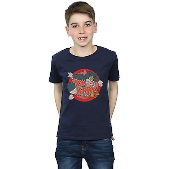 Tom And Jerry Boys Classic Catch T-Shirt