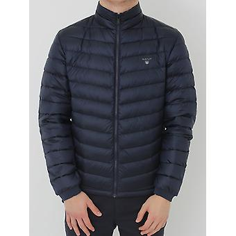 GANT Airlight Down Jacket - Evening Blue