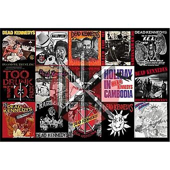 Dead Kennedys Album Montage Poster Poster Print