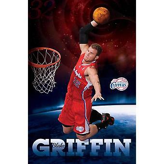 Blake Griffin Poster Poster Print