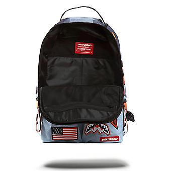 Sprayground Buzz Aldrin Mars Double Cargo Backpack - Charcoal / Black