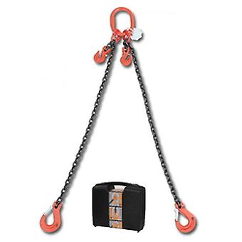 8097/4 C8A Beta Chain Sling 2 Legs And Grab Hook In Plastic Case 8mm 4 Mt