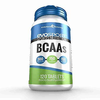 EvoSport BCAA Branched Chain Amino Acid Tablets - 120 Tablets - Sports Nutrition - Evolution Slimming