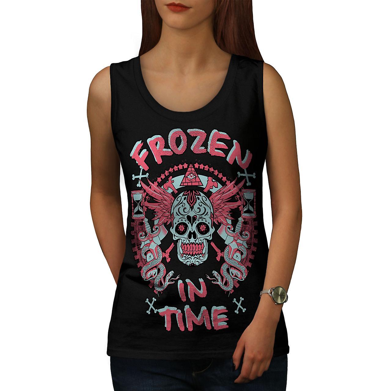Frozen In TIme Dead Women BlackTank Top | Wellcoda