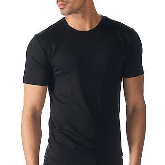 Mey 34202-123 Мужская Сеть сплошной черный цвет короткие Top