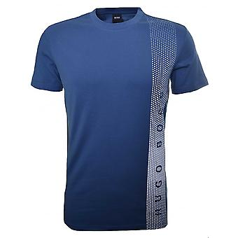 Hugo Boss Leisure Wear Hugo Boss Men's Slim Fit Blue Printed T-Shirt