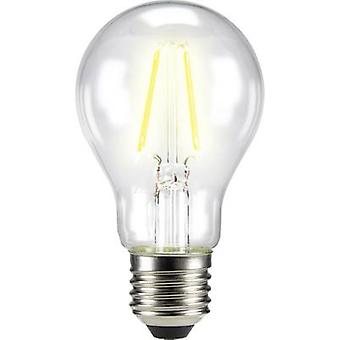 LED E27 arbitraria 6 W = 60 W Warm white (Ø x L) 60 x 105 mm EEC: base-congelador a ++ Sygonix filamento 1 PC