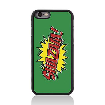 Call Candy Apple iPhone 7 Comic Capers Shazam! 2D Printed Case
