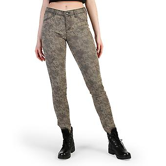 Desigual Women Trousers Brown