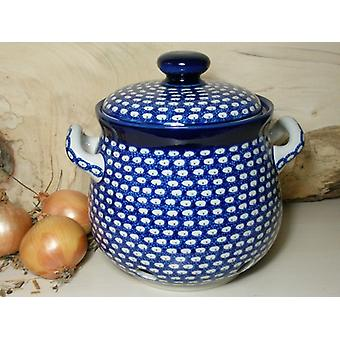 Zwiebeltopf, 3500 ml, 23 x 22 cm, Tradition 4 - polish pottery - BSN 5275