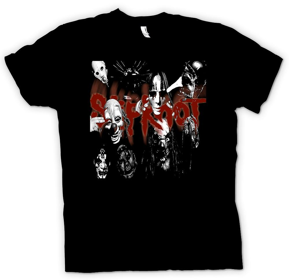T-shirt des hommes - Slipknot - Heavy Metal Band