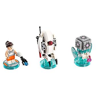 LEGO 71203 Portal 2 Level package