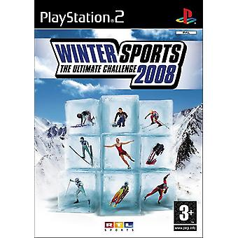 Winter Sports 2008 (PS2) - Factory Sealed