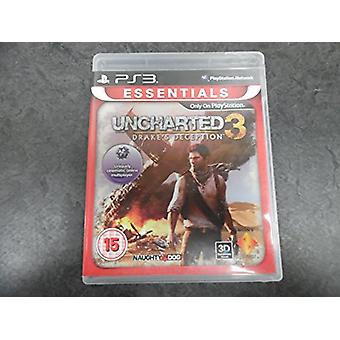 Uncharted 3 Drakes Deception Essentials PS3 spil