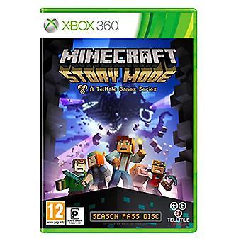 Minecraft Story Mode - en afslørende spil serie - sæson Disc (Xbox 360)