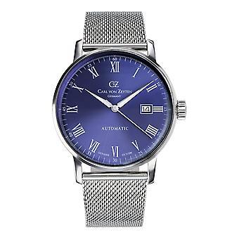 Carl of Zeyten men's watch wristwatch automatic Dreisam CVZ0010BLMB