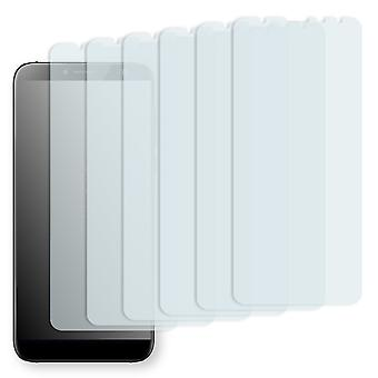 Zopo Flash X 2 screen protector - Golebo crystal-clear protector (deliberately smaller than the display, as this is arched)