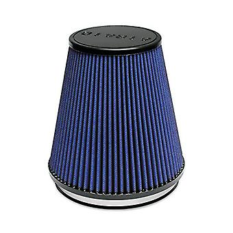 Airaid 703-495 Universal Clamp-On Air Filter: Round Tapered; 6 in (152 mm) Flange ID; 7 in (178 mm) Height; 7 in (178 mm