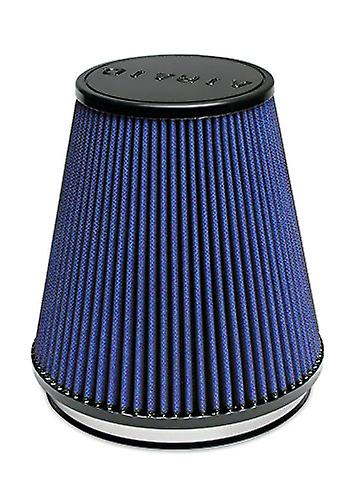 Airaid 703-495 Universal Clamp-On Air Filter  Round Taperouge; 6 in (152 mm) Flange ID; 7 in (178 mm) Height; 7 in (178 mm