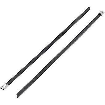KSS 1091213 BSTC-300L Cable tie 300 mm Black Coated 1 pc(s)