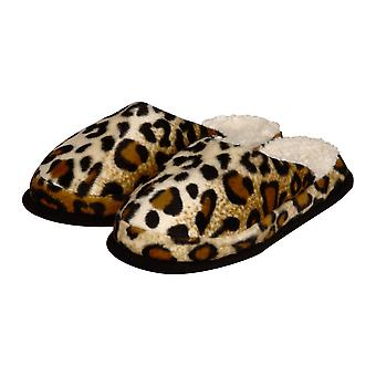 Wellness slippers animal patterns Cheetah fur 42/43