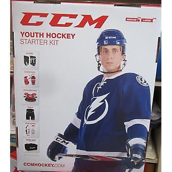 CCM Youth Hockey Starter Kit