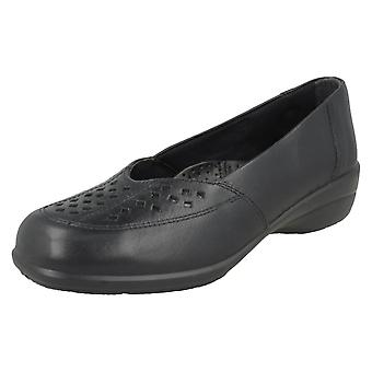 Ladies Easy B Wide Fitting Casual Slip On Shoes Jubilee