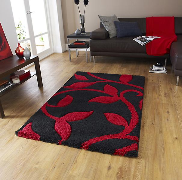 Rugs - New Art Fashion 7647 Black Red