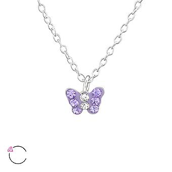 Papillon - 925 Sterling Silver Necklaces - W37647X